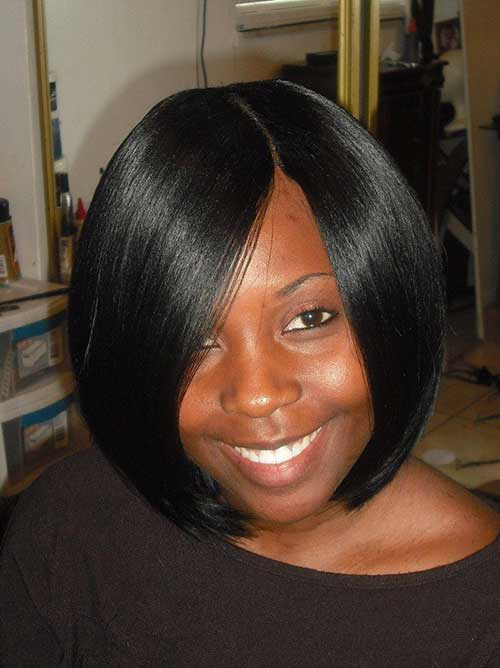 Blunt Bob Haircuts for Black Women