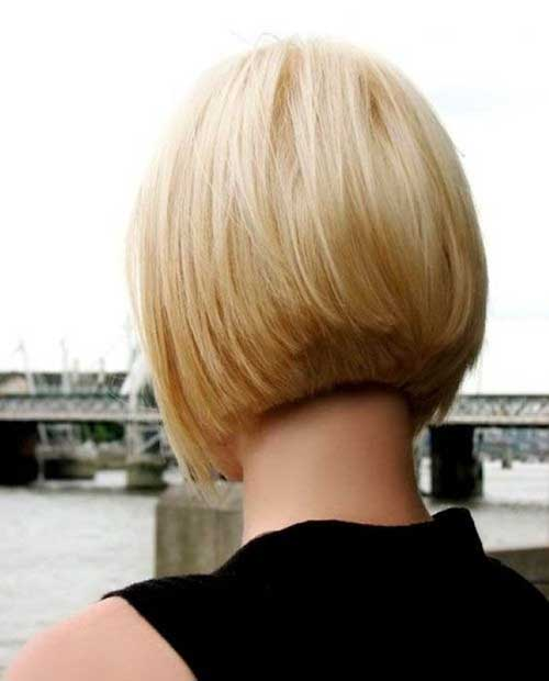 Bob Haircut Back View