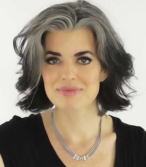 Bob Hairstyles for Older Ladies