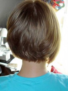 Bob Hairstyles Back View Images