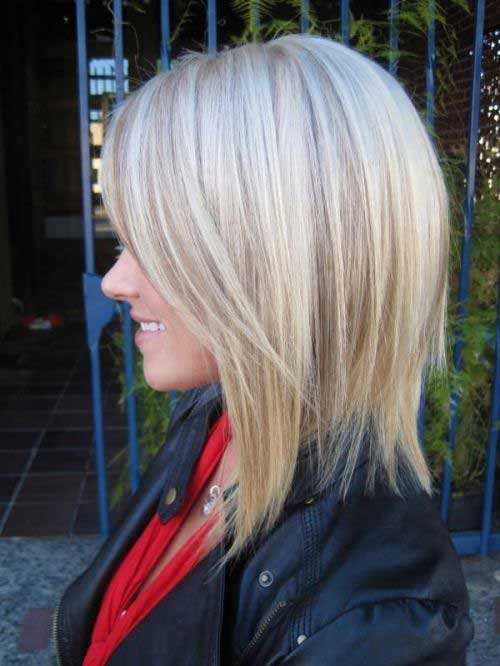 Layered Bob Hairstyles for Girls