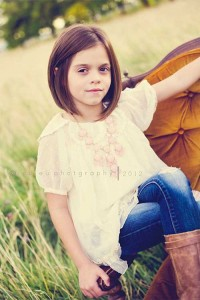 Straight Bob Hairstyles for Little Girls