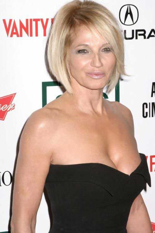 Blonde Bob Hairstyles for Women Over 60