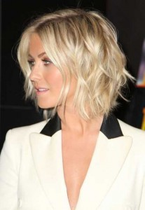 Blonde Bob Style for Weddings