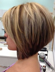 Bobs with Brown Color