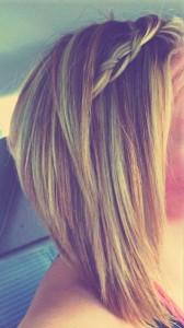 Braided Blonde Bob Hairstyles