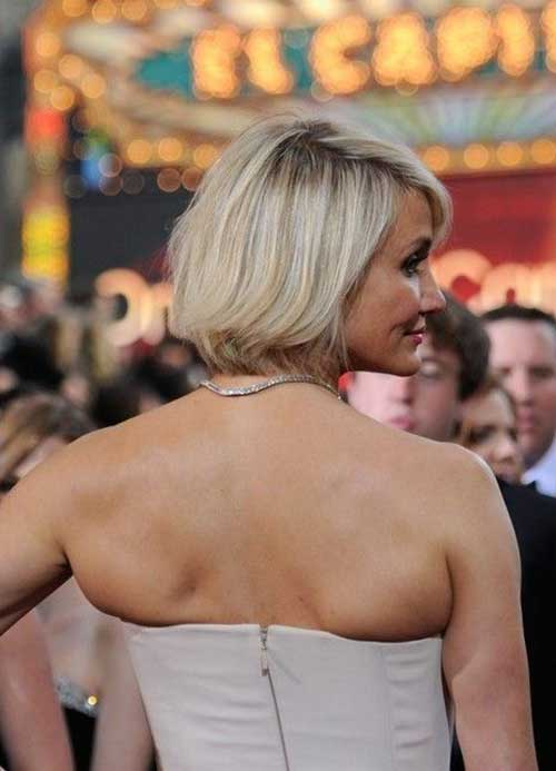 Cameron Diaz Bob Back View