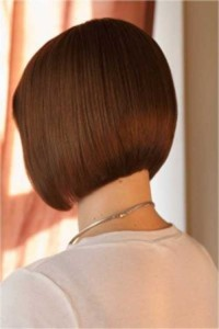 Casual Back of Bob Haircut Styles