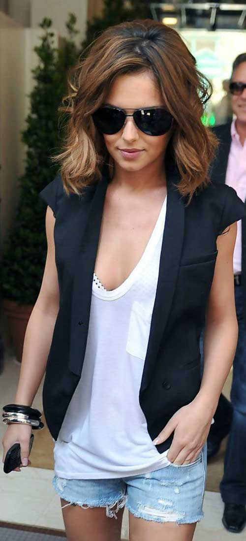 Cheryl Cole Medium Bob Cut