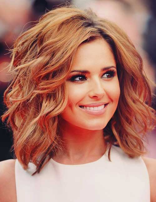 Cheryl Cole Thick Bob Haircut