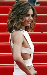 Cheryl Cole Long Thick Bob