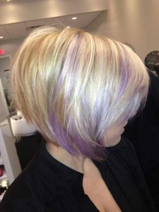 Chic Blonde Bob Hair