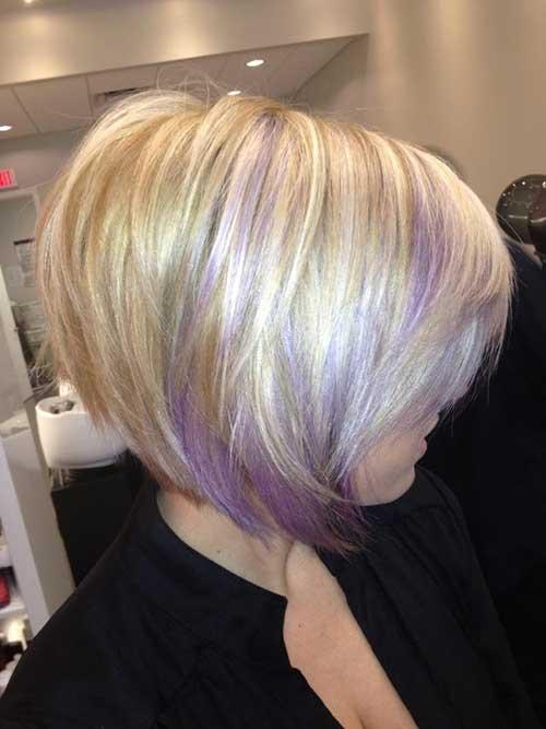 Chic Blonde Bob Hair