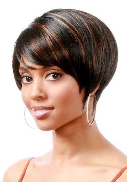 Chic Short Bob Hair Styles for Black Women