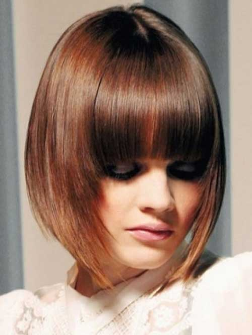 Chinese Bob Hairstyles Ideas with Bangs