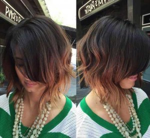 Stylish Choppy Short Bob