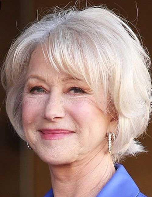 Classy Bob Hairstyles for Women Over 60