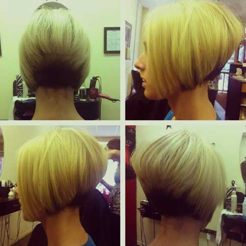 Cool Stacked Layered Bob Hairdo