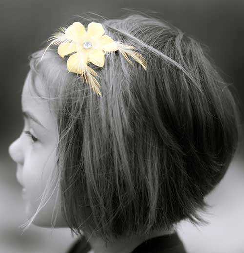 Cute Bob Hair for Little Girls