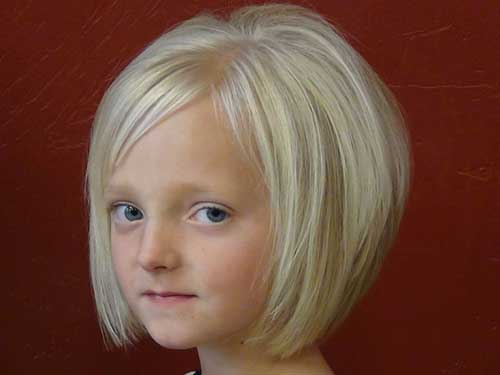 Cute Bob Cuts for Little Girls