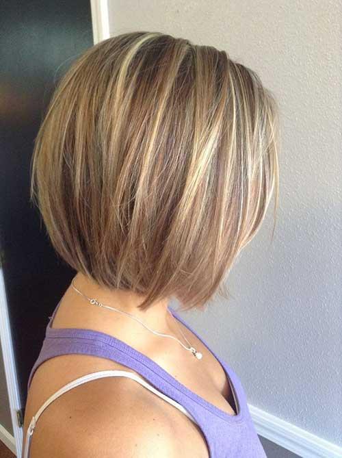 Cute Color Straight Bob Hair Ideas