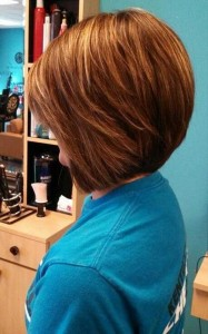 Cute Brown Hair Color for Bobs