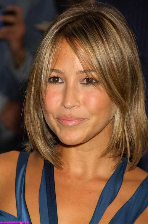 Cute Medium Fine Hair Bob Hairstyles