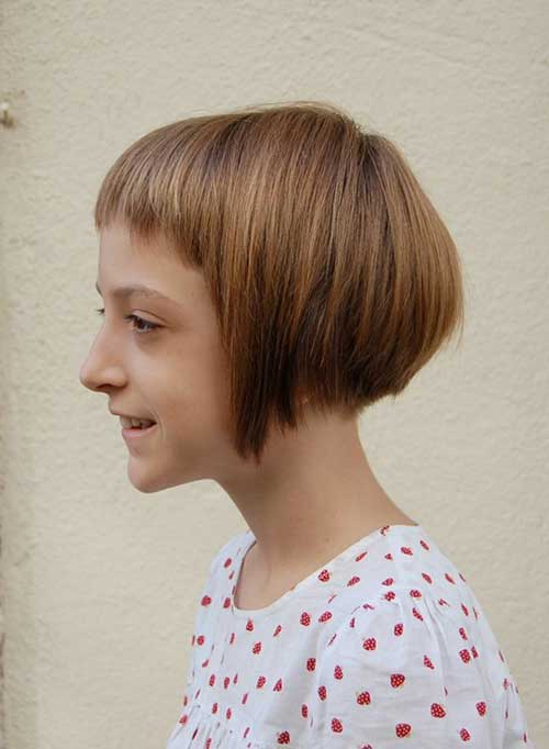 Cute Short Bob Cuts for Girls