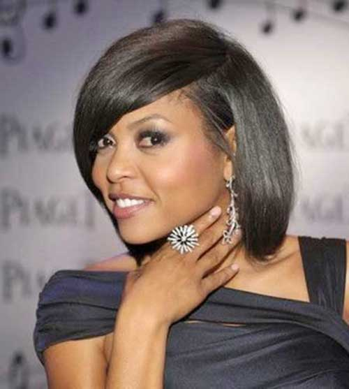 Dark Bob Haircuts Ideas for Black Women