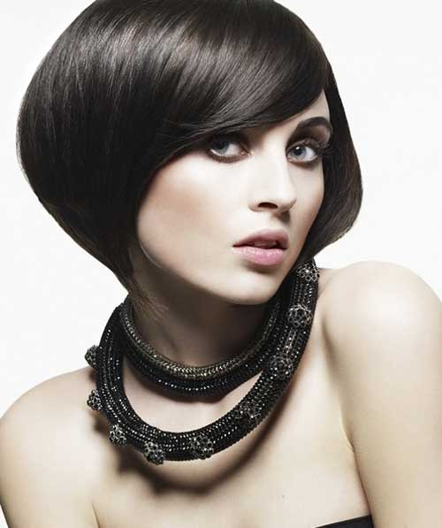 Dark Chinese Bob Hairstyles Ideas