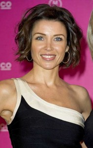 Dark Curly Bob Hairstyles for Over 40