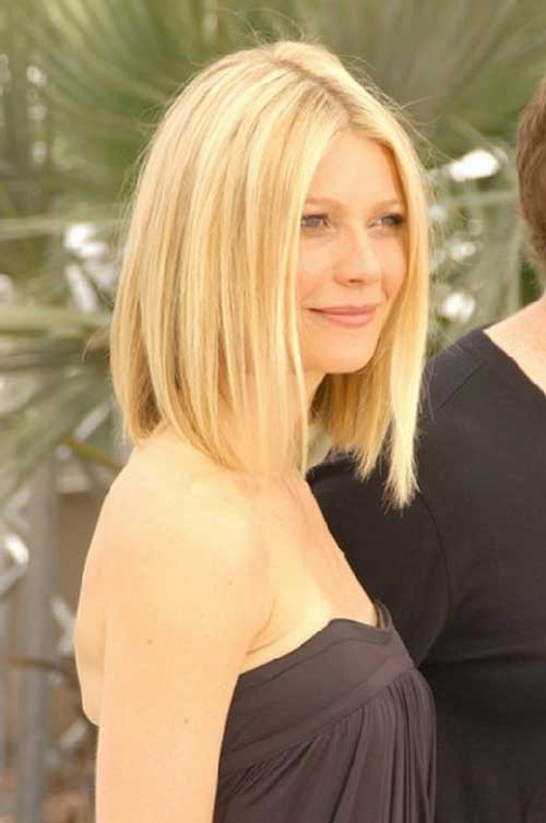 Fine Long Inverted Bob Hairstyles