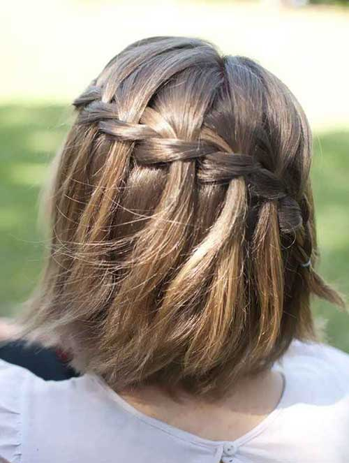 Girls Braided Bob Hairstyles