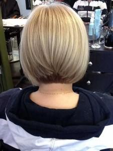 Graduated Ash Blonde Bob Hair Pictures