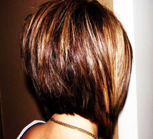 Graduated Bob Cut Back View