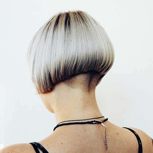 Graduated Bob with Undercut Pictures