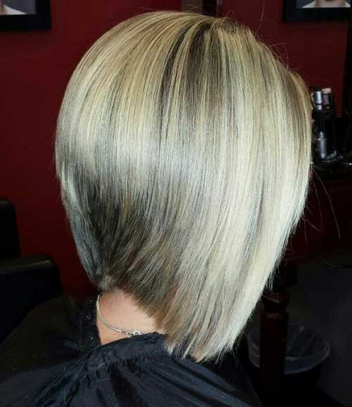 Graduated Thick Bob Cuts