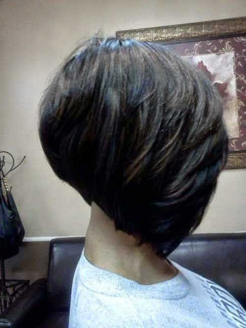 Nice Layered Bob Hairstyles for Black Women