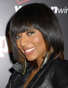 Layered Bob with Bangs Hairstyles for Black Women