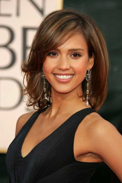 Layered Long Bob for Wedding Hairstyles