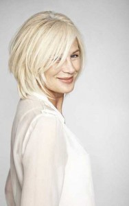 Layered Platinum Blonde Bob Styles 2015