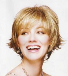 Layered Short Bob Hairstyles Ideas for Over 40