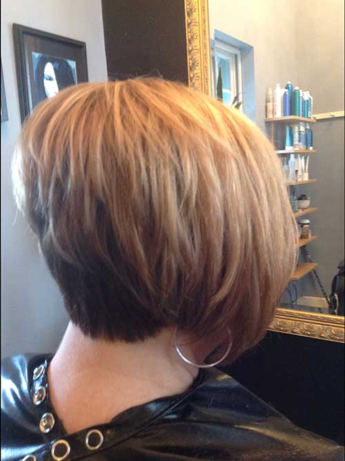 Layered Stacked Bob Hairstyles Idea