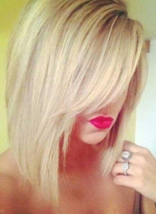 Long Blonde Bob Hair
