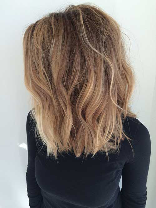 Long Wavy Bob Hairstyles 2014-2015