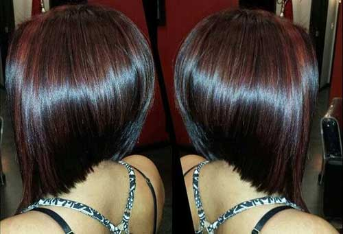 Long Graduated Bob Haircuts