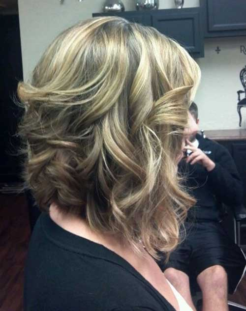 Long Inverted Bob Haircuts