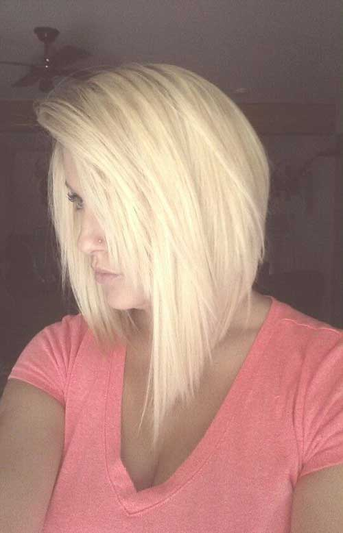 Long Inverted Bob Thick Hairstyles
