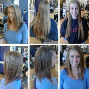 Long Inverted Casual Bob Hairstyles