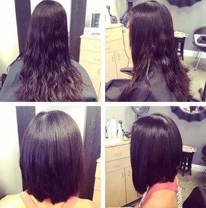 Long Inverted Fine Bob Hairstyles